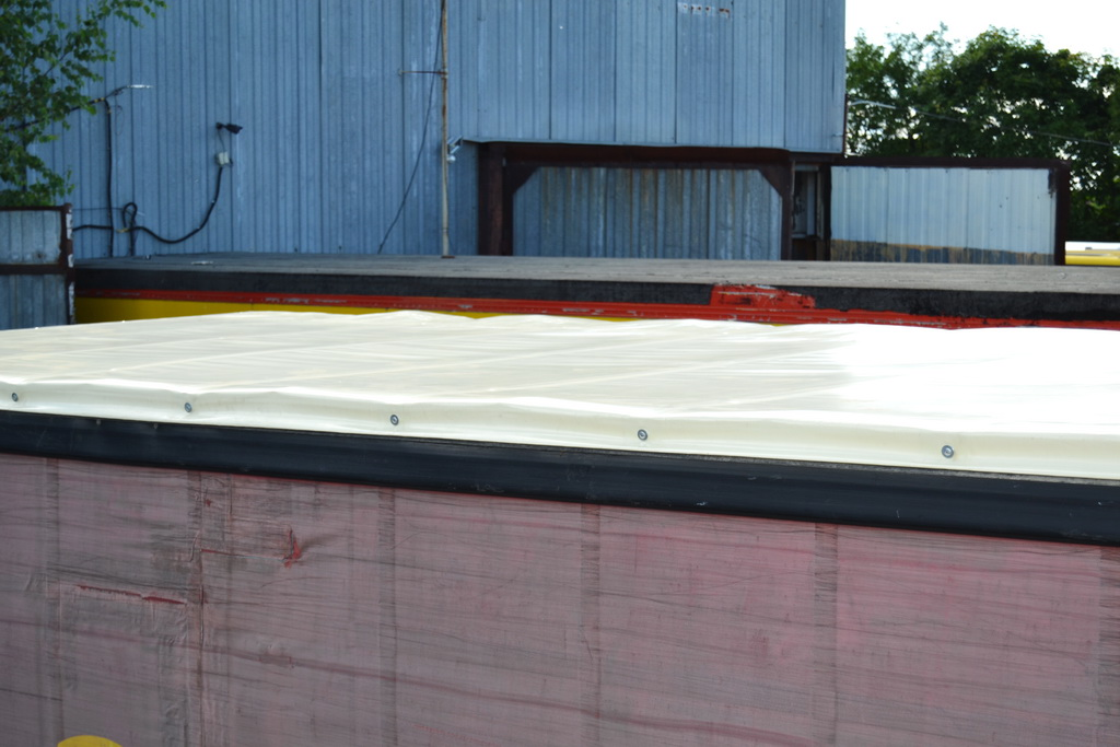 Тент крыши для прицепа Schmitz